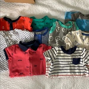 Bundle of 9 0-3 Month Outfits